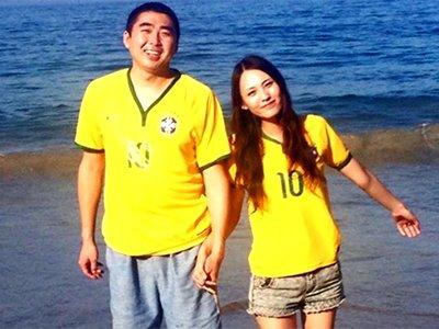 意外的幸福!世界杯助异地夫妻团聚