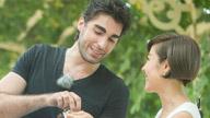 浪漫法国帅哥急切求婚