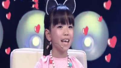 混血小美女颜值爆表  倾情演唱 狮子王 主题曲