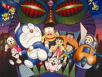 哆啦A梦1993剧场版 大雄与白金迷宫 国语