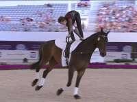 国际马联马术欧锦赛 马背体操自由赛全场