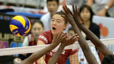 中国女排3-0肯尼亚  赢得世界杯第六胜