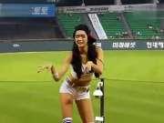 韩国美女棒球啦啦队宝贝火辣性感热舞