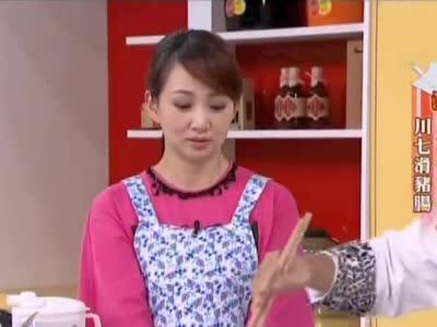 《美食好简单》20141003:泡椒白肉片 川七滑猪肠