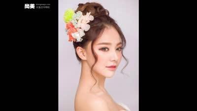 2015韩式新娘盘发造型图片【根本停不下来】