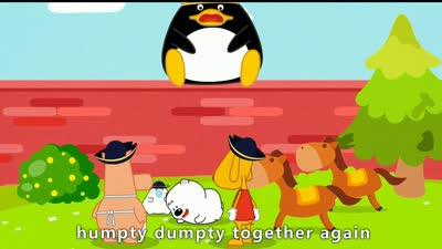 小囧熊英文儿歌 7-hempty dumpty