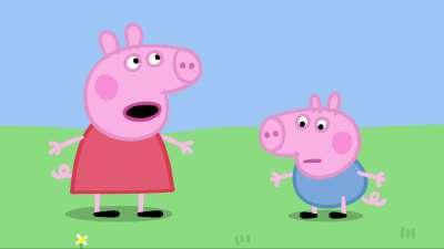粉红猪小妹08 中间的小猪