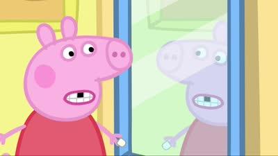 粉红猪小妹22 牙仙子