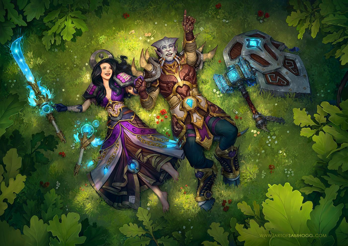 魔兽玩家:一个源于魔兽刻骨铭心的爱情故事