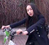 花样自行车团畅游王子岛