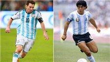 梅西像极了马拉多纳! 阿根廷足球DNA的传承