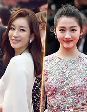 Cannes 70th anniversary red carpet meets Chinese actress