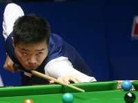 上海赛丁俊晖4度被追平 决胜局单杆76进八强