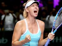 总决赛-莎娃完胜哈勒普 两连胜出线形势大好