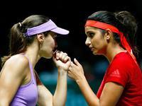 总决赛-辛吉斯/米尔扎横扫詹氏姐妹 率先晋级女双决赛