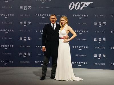 《007:幽灵党》首映礼全程