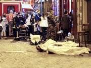 实拍巴黎恐怖袭击后的现场画面 现场哀鸿遍野惨不忍睹
