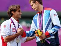 2012伦敦奥运男单决赛 穆雷VS费德勒