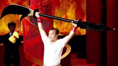 冯氏专场传说中的武林高手耍128斤关公刀 徽菜如何得益于冯姓发扬光大