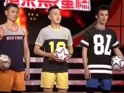 """《大家想得美》20151213:模特组球队""""中国c罗""""帅气亮相 沙画组合秀绝美沙画"""