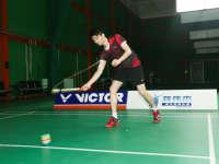《羽毛球UP训练课》第5期:龚伟杰怒抽陀螺练发力