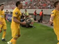 欧联-索特鲁闪击 希腊人竞技1-0力擒奥林匹亚科斯