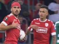 欧联-国米旧将任意球救主 标准列日2-2帕纳辛纳科斯