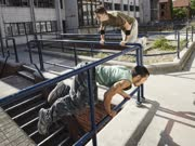 和Jason Paul一起跑酷 巴塞罗那街头的风景线