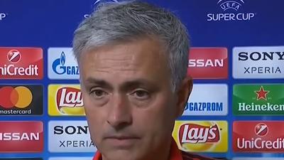 穆帅:皇马有1球越位 C罗上来比赛就结束了【中字】