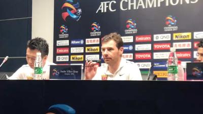 博阿斯:上港晋级亚冠决赛破历史 不满球队今日表现