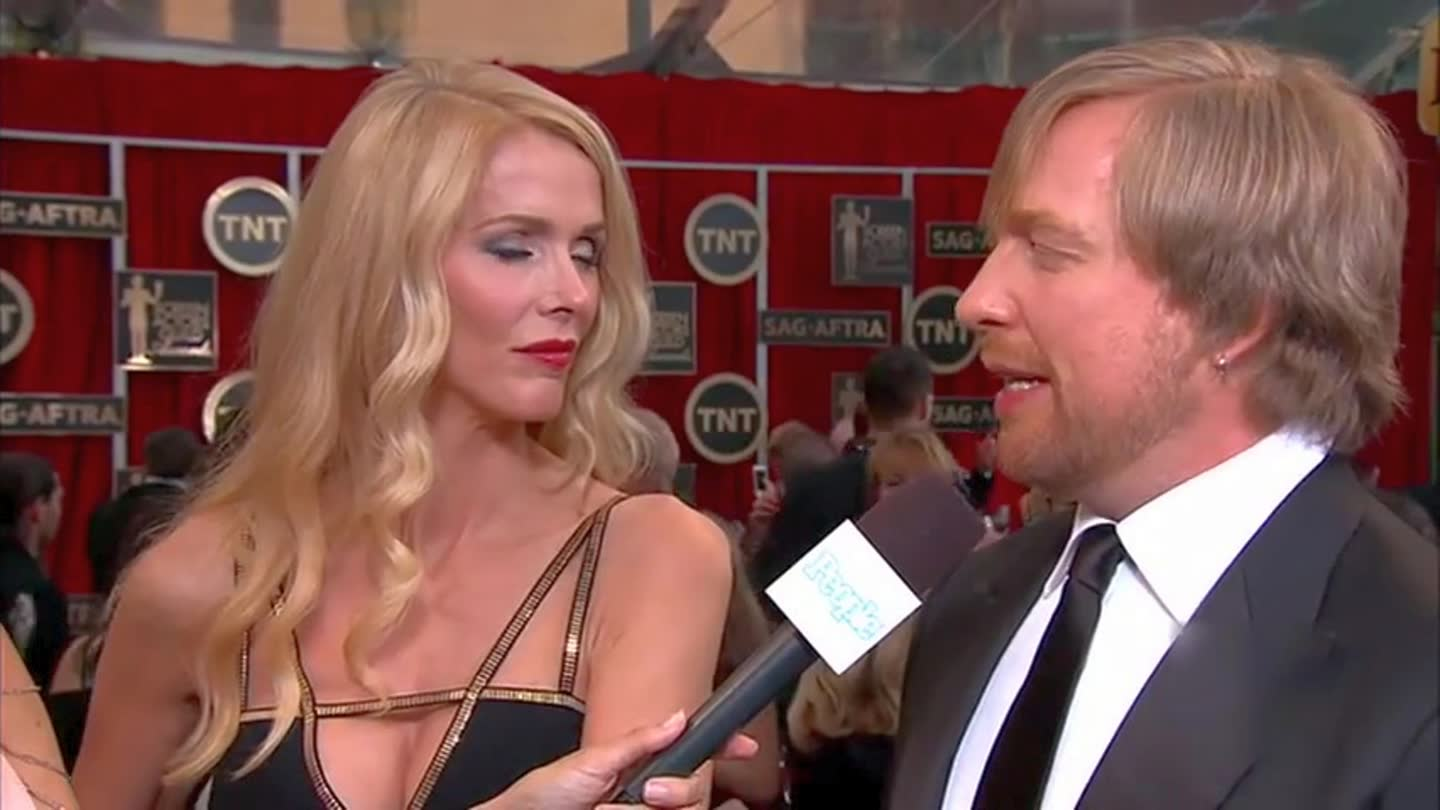 模仿游戏Morten Tyldum I SAG Awards Red Carpet 2015 I TNT