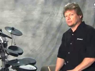 罗兰电爵士鼓教学视频 3