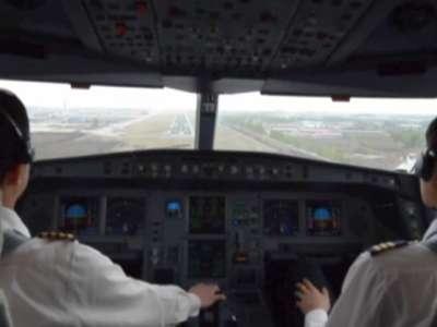 从飞行员的角度看飞机着陆全过程