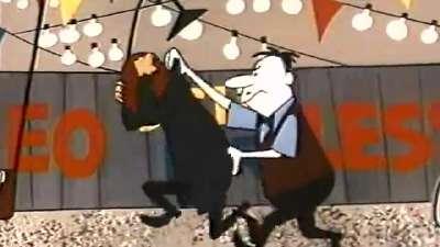 1957 第29届奥斯卡最佳动画短片 马鸪先生的小车 Mister Magoo's Puddle Jumper