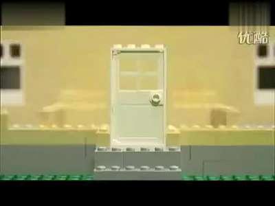 lego乐高积木玩具动画拼装过程教程