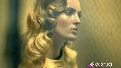 酷炫金色妆容打造摩登耀眼派对女郎