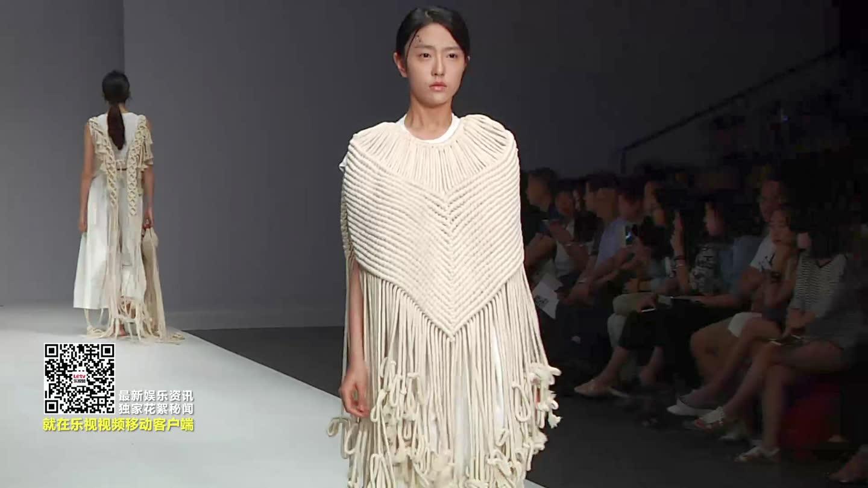 2015北京大学生时装周广州大学纺织服装学院走秀图片