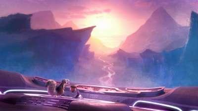 """《冰川时代5》首款预告萌萌出街  小松鼠""""大闹天宫"""""""