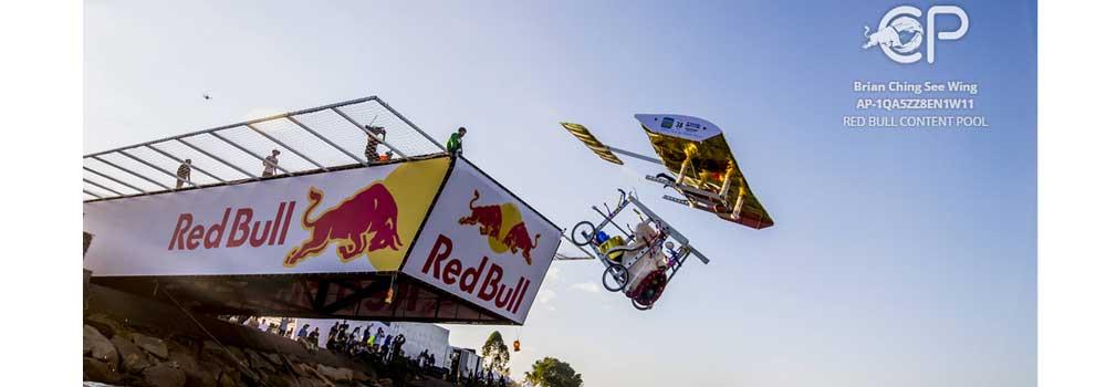 Red Bull Flugtag飞行日在香港启德跑道公园举行