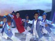 《我爱我的祖国》20150322:藏族武艺班孩子的表演 用心诠释少年强则国强