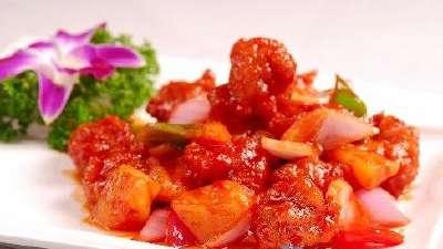 水晶咕噜肉让人吞口水 各式菜名歪出经典