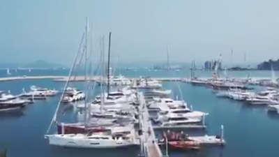 """大帆船赛亮点抢先看 为确保公平比赛频亮""""狠""""招"""
