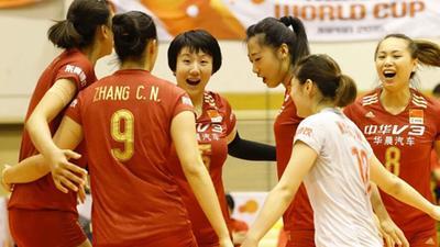 世界杯中国女排3-0秘鲁 朱婷休战魏秋月再登场