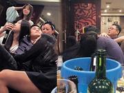 富二代组饭局众女星作陪 15位美女同场争宠