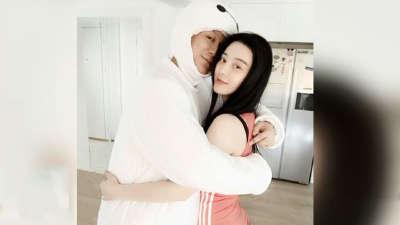 范冰冰为李晨庆生疑曝婚戒 示爱称没想过分开