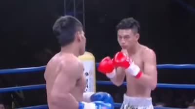 中国小将组团挑战国外老将 泰国老将扬言在最短时间KO对手