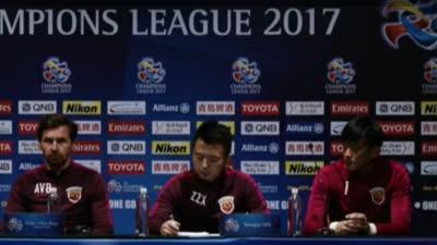 上港亚冠赛前发布会 博阿斯:有机会拉开小组差距