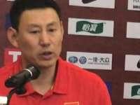 李楠:我们之间需不断磨合 通过比赛去了解队员