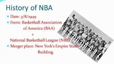 历史上的8月4日:NBA正式成立 希尔大本互换东家