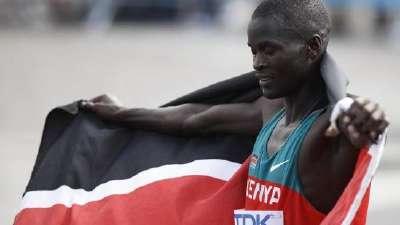世锦赛男子马拉松基鲁伊夺冠 埃塞尔比亚托拉摘银